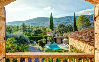 A modest villa in Europe
